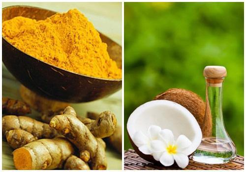 Trị thâm nách cấp tốc chỉ đơn giản từ bột nghệ và dầu dừa