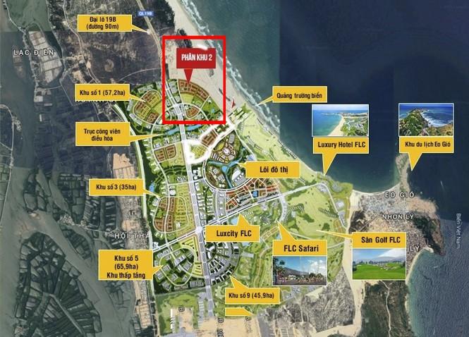 Bình Định 'tuýt còi' dự án Nhơn Hội New City huy động vốn trái phép - Ảnh 1