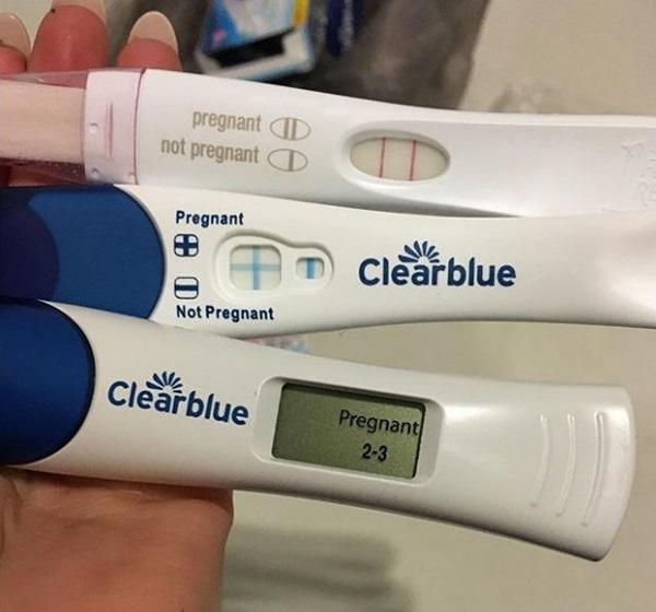 Cô gãi mãn kinh ở tuổi 23 vỡ òa hạnh phúc khi bất ngờ mang thai đôi - Ảnh 4