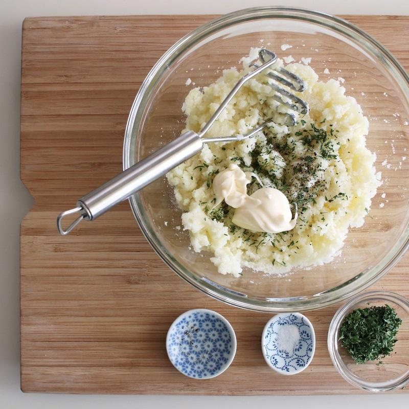 Làm bánh khoai tây phô mai đơn giản mà ngon lạ - Ảnh 3