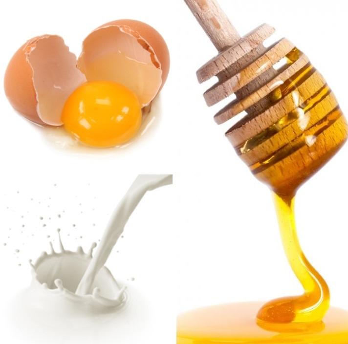 Làm đẹp da mặt với mặt nạ mật ong và trứng gà