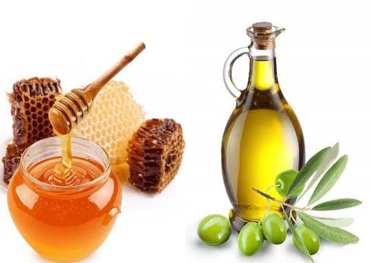 Mẹo làm đẹp da đơn giản với mật ong và dầu oliu