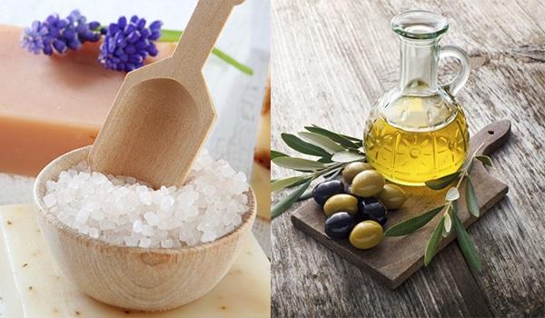 Bí quyết làm da đẹp tự nhiên với dầu oliu, mật ong và muối