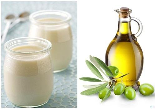 Làm đẹp với dầu oliu và sữa tươi giúp da đẹp mịn màng, tóc suôn mượt như tơ