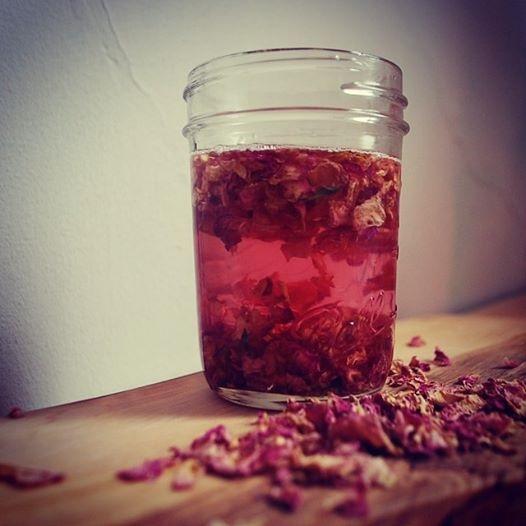 Làm hồng môi và dưỡng môi với dầu dừa + tinh dầu hoa hồng