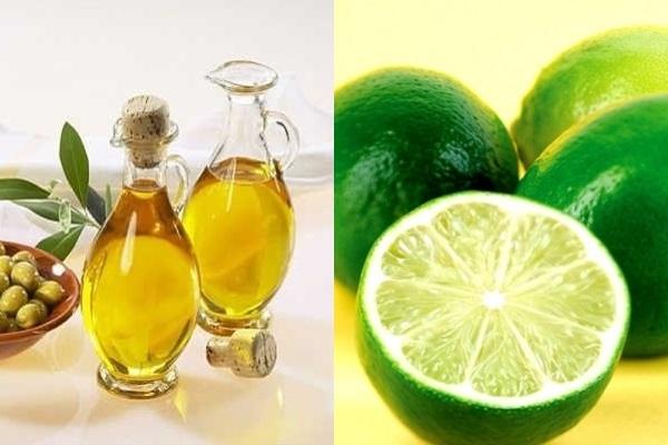 Dưỡng môi hồng hiệu quả bằng oliu và chanh tươi