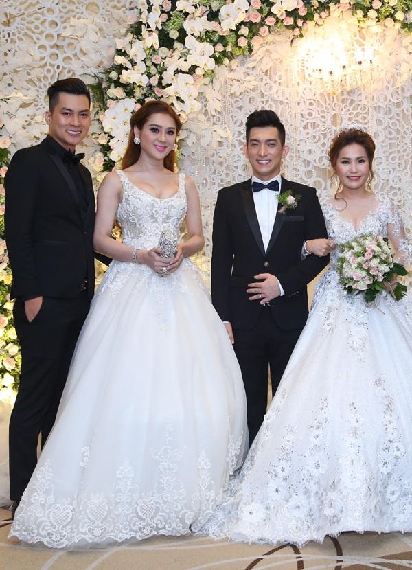 Ca sĩ chuyển giới Lâm Khánh Chi đẹp 'vượt mặt' cô dâu khi tham dự lễ cưới chồng cũ Phi Thanh Vân - Ảnh 2