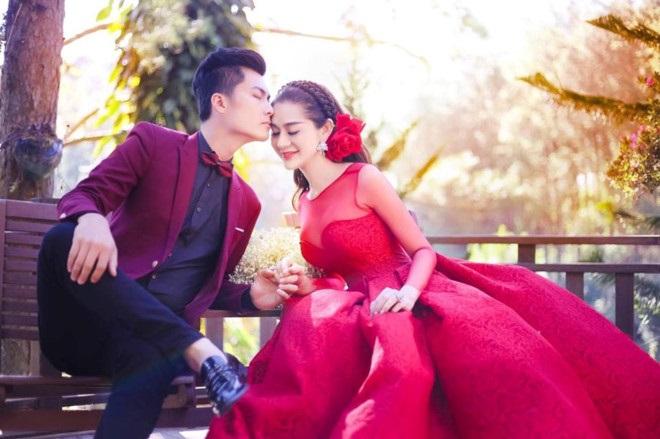 Hình cưới đẹp lung linh của Lâm Khánh Chi và bạn trai làm không ít khán giả chú ý - Ảnh: Internet
