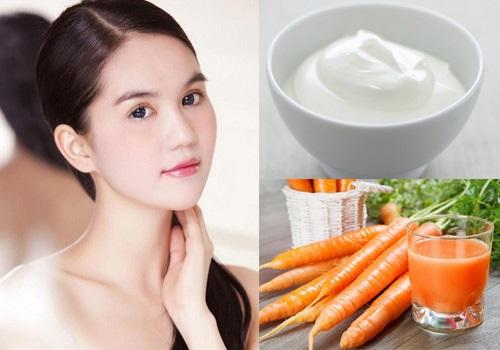 Dưỡng trắng da với sữa tắm trắng từ cà rốt