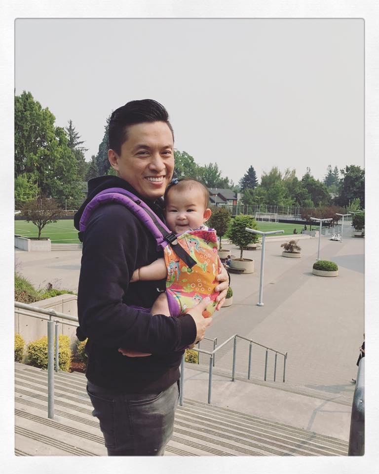 Con gái Lam Trường giống ba như đúc, lần đầu tiên được đi du lịch xa - Ảnh 1