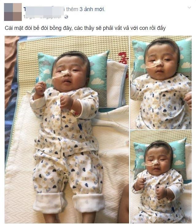 Lần đầu chứng kiến bé Phạm Đức Lộc làm điều này khiến nhiều người xúc động - Ảnh 1