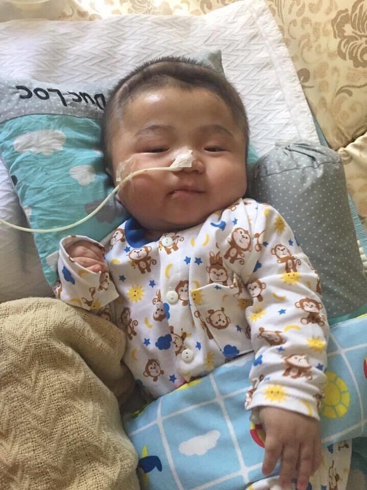 Lần đầu chứng kiến bé Phạm Đức Lộc làm điều này khiến nhiều người xúc động - Ảnh 5