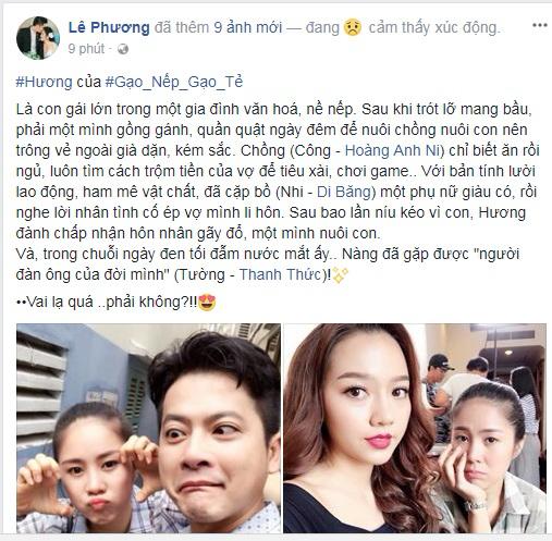 Mượn vai diễn mới, Lê Phương khơi lại cuộc tình đau thương với chồng cũ Quách Ngọc Ngoan - Ảnh 1
