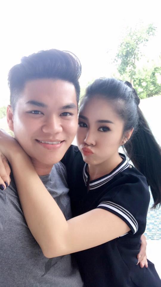 Lê Phương hạnh phúc bên chồng trẻ Trung Kiên trong ngày sinh nhật