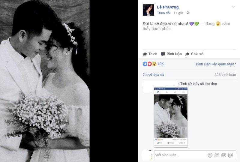Trong đám cưới với bạn trai kém 7 tuổi, Lê Phương tiết lộ sẽ làm điều này với chồng cũ Quách Ngọc Ngoan - Ảnh 1