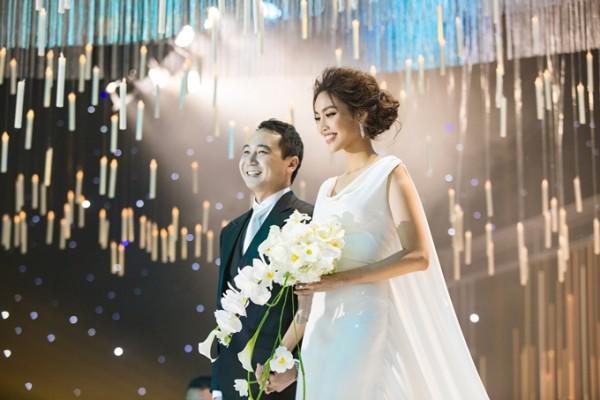 7 đám cưới đình đám, lãng mạn của sao Việt trong năm 2018 - Ảnh 4