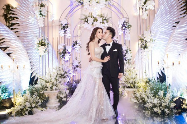 7 đám cưới đình đám, lãng mạn của sao Việt trong năm 2018 - Ảnh 8