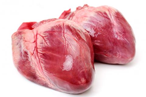 Tim heo chứa nhiềuchất béo bão hòa cùng hàm lượngcholesterol