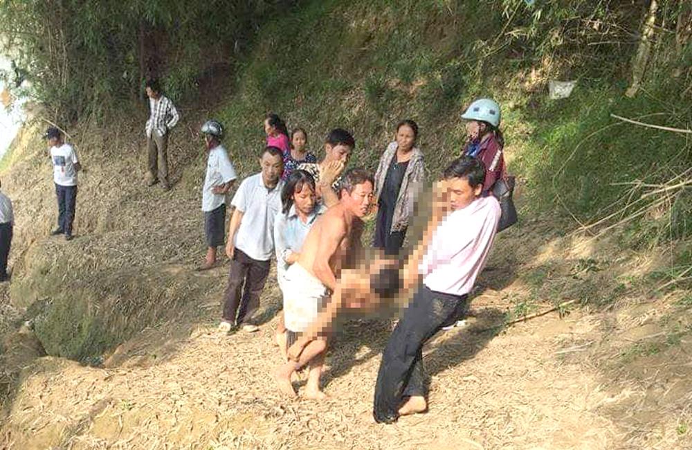 Tắm sông giữa trưa, ba nam sinh lớp 9 bị nước cuốn tử vong - Ảnh 1