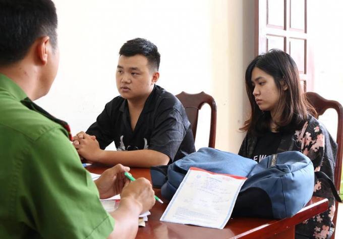 Truy tố nữ sinh viên đại học Sân khấu điện ảnh cùng tình nhân dàn cảnh cướp tài sản - Ảnh 1