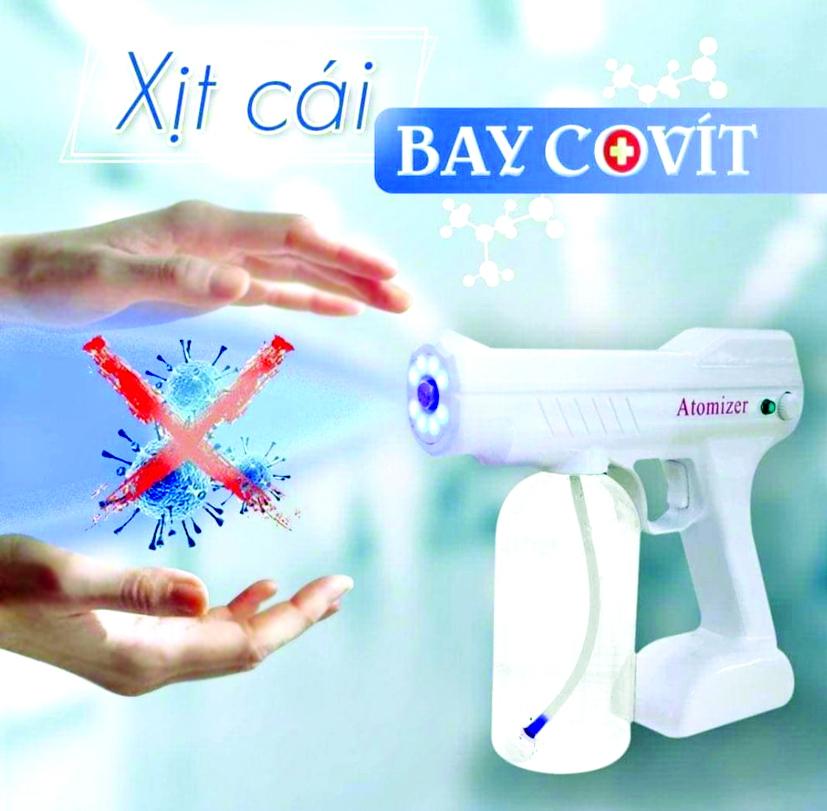 Máy khử khuẩn cầm tay có 'đánh bay' COVID-19? - Ảnh 1