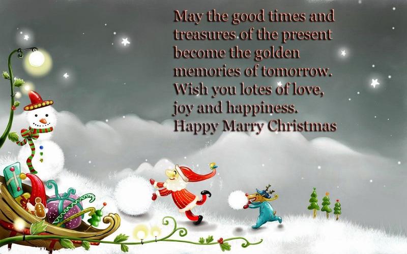 lời chúc Giáng sinh ý nghĩa bằng tiếng Anh