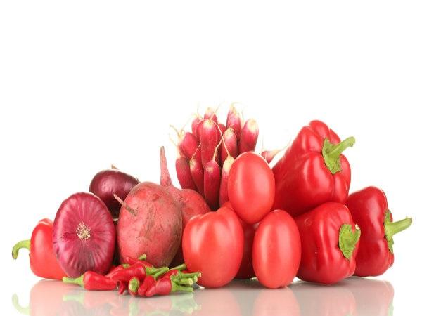 Các loại rau đỏ có khả năng ngăn ngừa ung thư ở các cơ quan sinh sản, nhất là cổ tử cung và buồng trứng