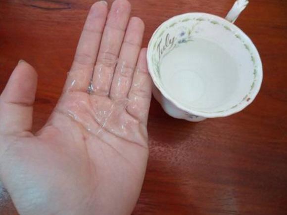 Tự chế miếng lột mụn đầu đen từ gelatin cực hiệu quả