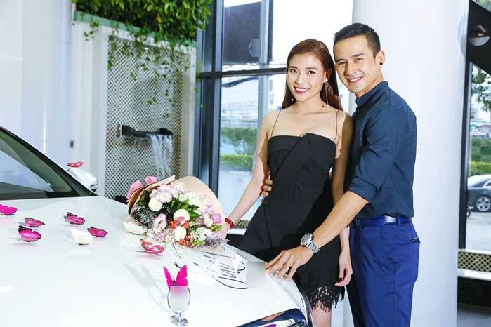 Lương Thế Thành mua xế hộp hạng sang tặng bà xã Thúy Diễm