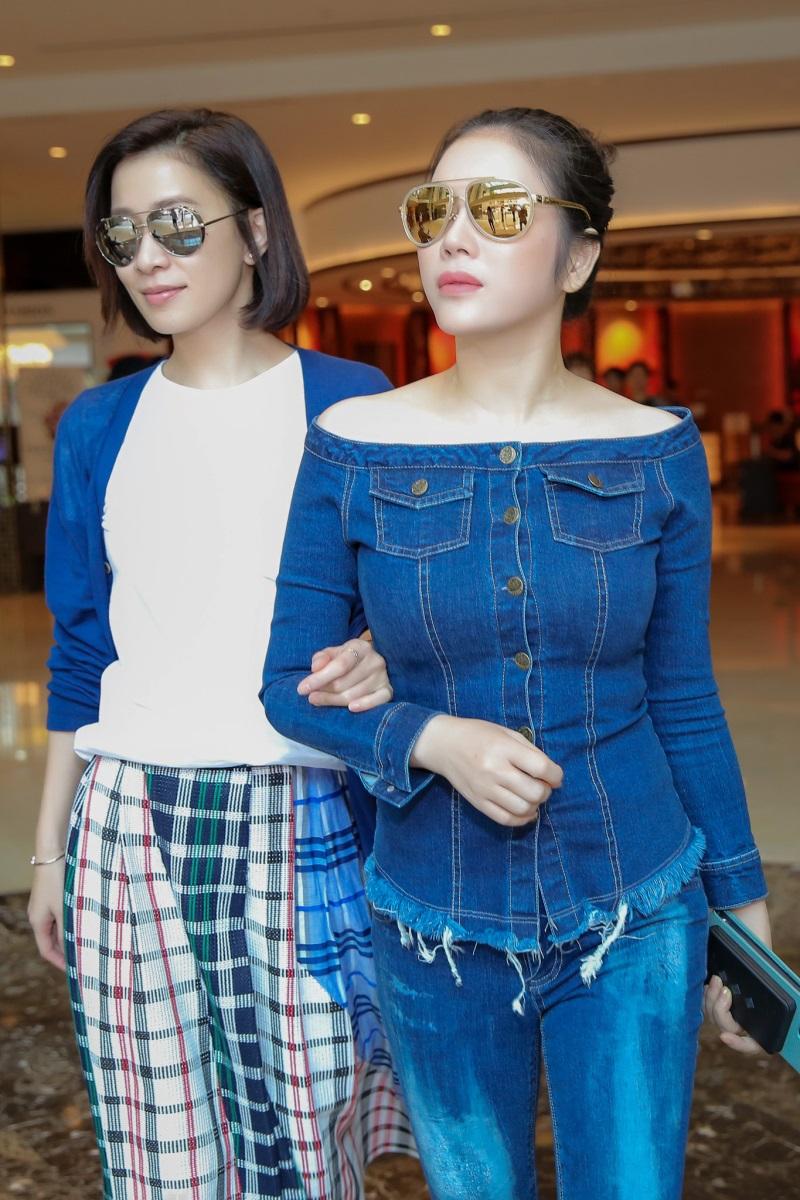 Cô bạn thân nổi tiếng Xa Thi Mạn thường xuyên đến Việt Nam thăm Lý Nhã Kỳ - Ảnh: Internet