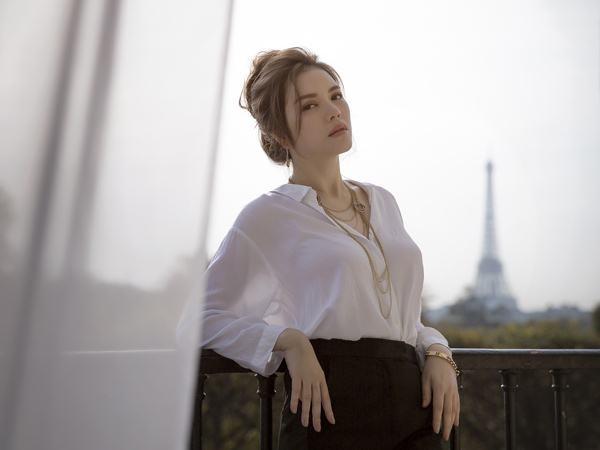 Lý Nhã Kỳ sang Pháp quay quảng cáo - Ảnh 3
