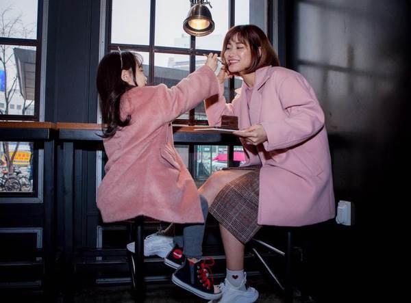 'Cùng nhau đi trốn' - Bộ ảnh xinh ơi là xinh của mẹ và con gái chụp ở Hàn Quốc - Ảnh 6