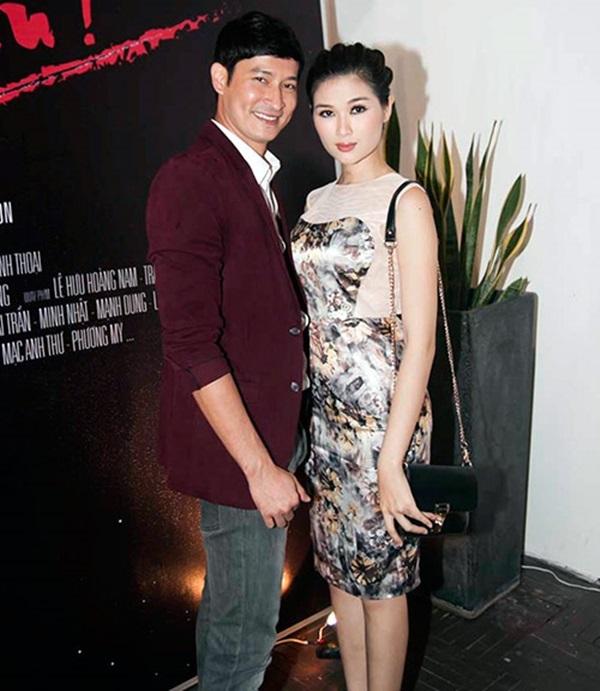 Những người vợ vừa xinh vừa giỏi làm hậu phương vững chắc cho các nam diễn viên điển trai Việt - Ảnh 9