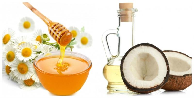 Mặt nạ dưỡng da trắng mịn hoàn hảo với dầu dừa và mật ong
