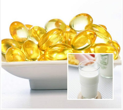 Dùng sữa tươi kết hợp với vitamin e làm mặt nạ trắng da