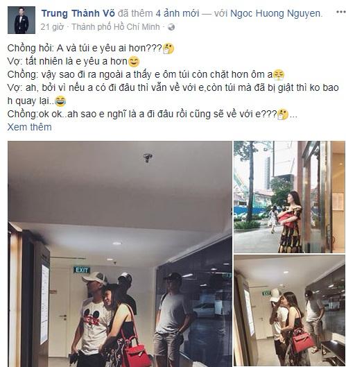 MC Thành Trung bức xúc 'tố' vợ trên mạng xã hội: Giữ túi còn chặt hơn cả… giữ chồng - Ảnh 1