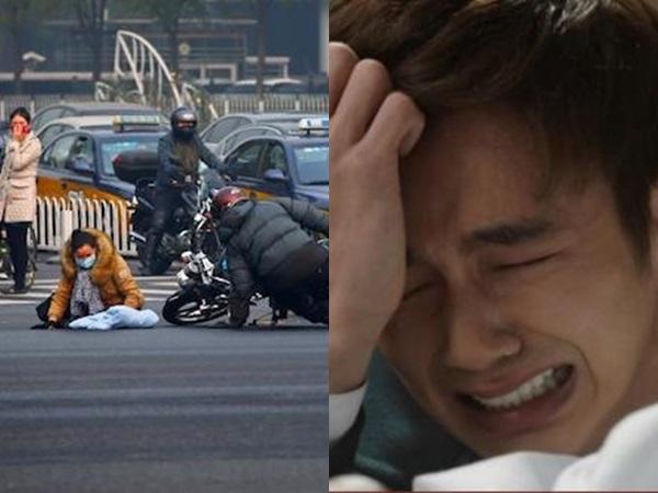 Gặp tai nạn bên đường sợ liên lụy nên chồng rồ ga phóng xe đi để rồi 15 phút sau vợ gọi điện nức nở: 'Anh ơi mẹ chết rồi...' - Ảnh 1