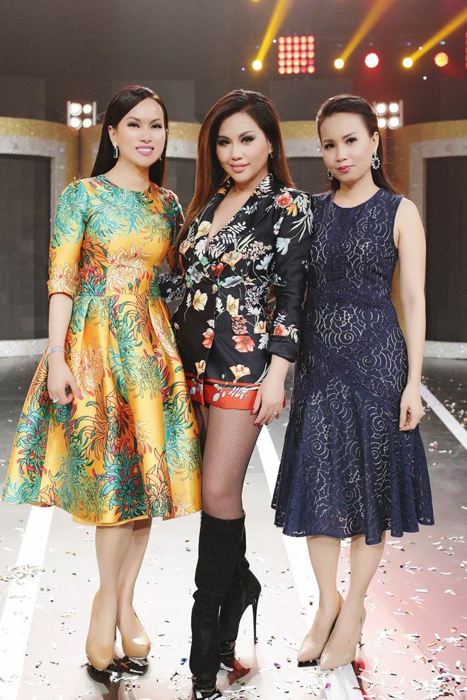 Ba chị em Cẩm Ly, Hà Phương và Minh Tuyết