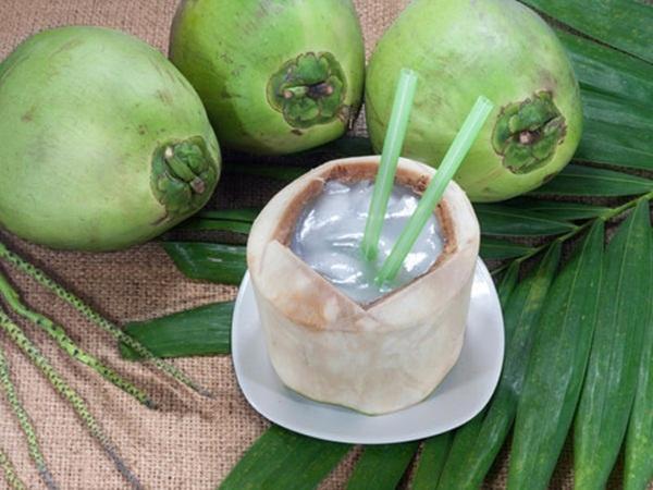 Ngày chỉ nên uống 1 cốc sinh tố dừa và không uống vào ban đêm, dễ lạnh bụng