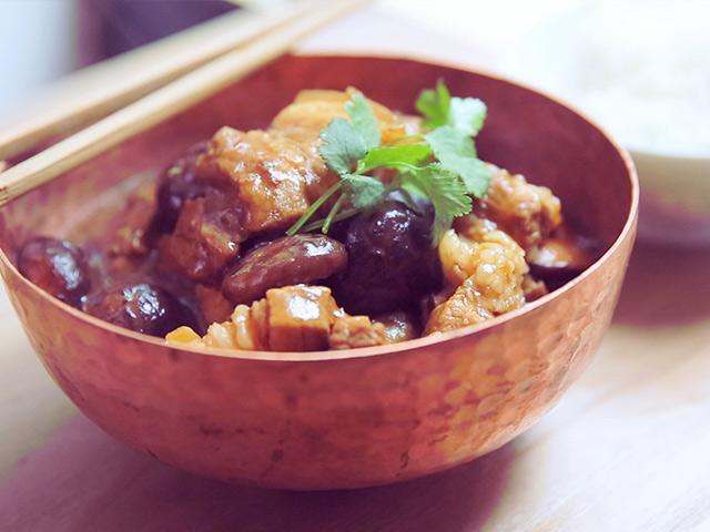 Thịt ba chỉ om nấm cho bữa cơm thêm đậm đà - Ảnh 3