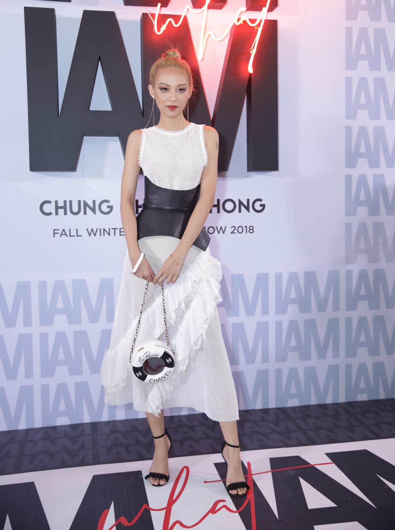 Thảm đỏ show Chung Thanh Phong: Khi dàn sao nữ đồng loạt lên đồ như dự lễ hội Halloween - Ảnh 5