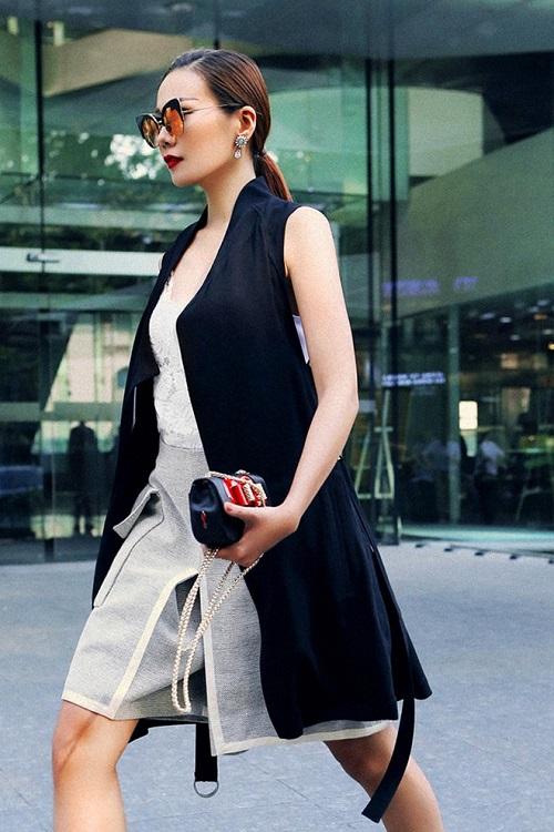 Đã mắt với gu thời trang của Thanh Hằng: Nổi bật từ thảm đỏ đến sàn catwalk và cả ngày thường - Ảnh 5