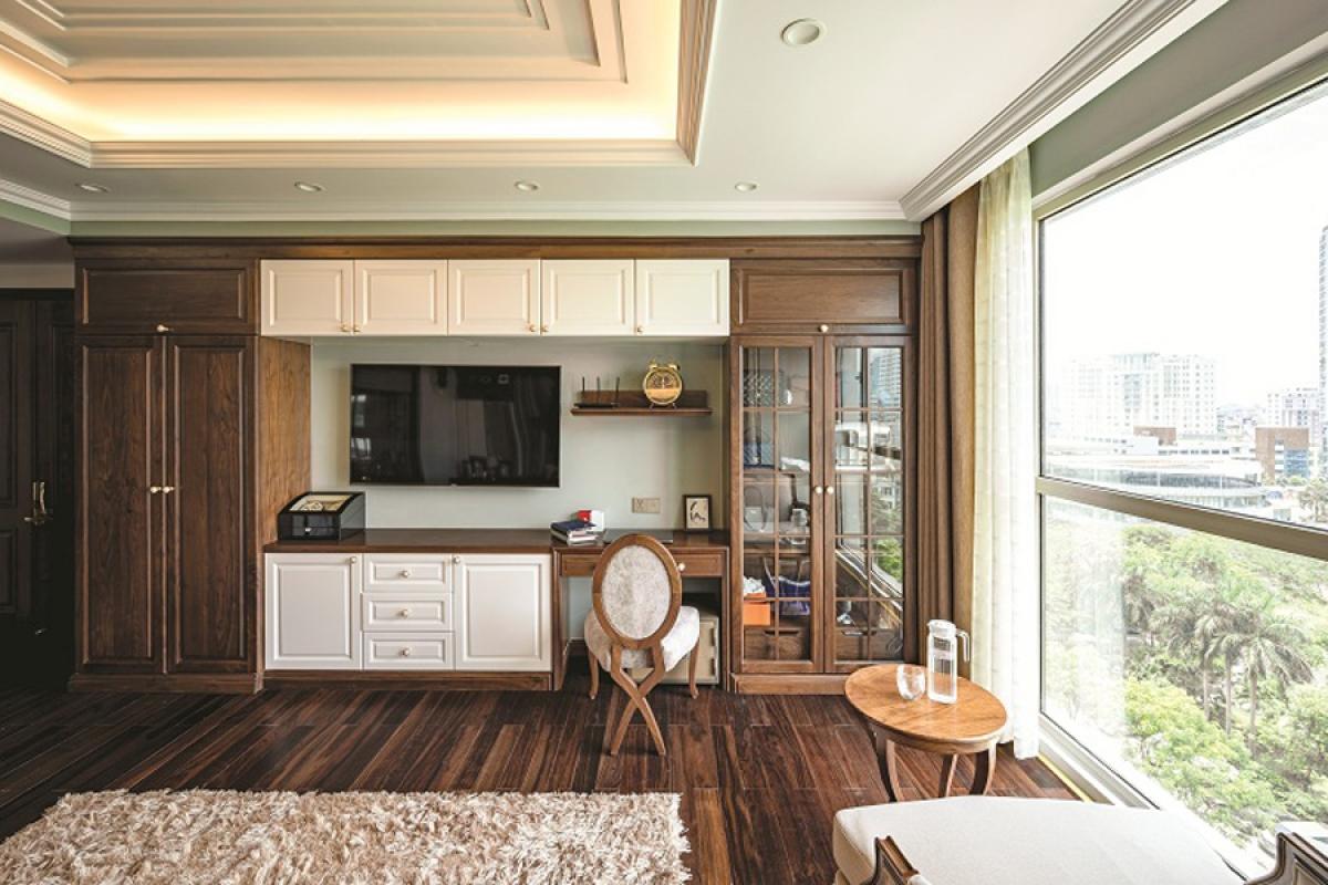 Căn hộ duplex đẹp sang trọng với phong cách tân cổ điển - Ảnh 11