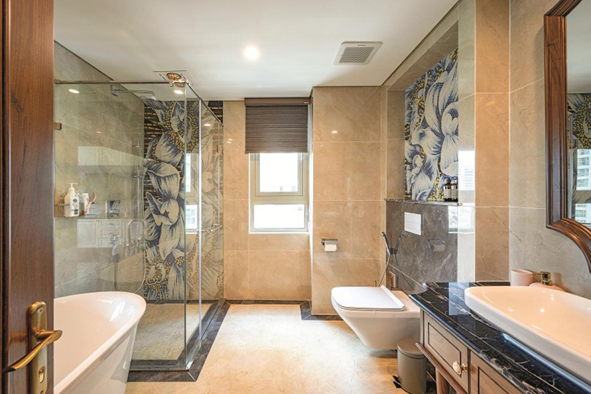 Căn hộ duplex đẹp sang trọng với phong cách tân cổ điển - Ảnh 12