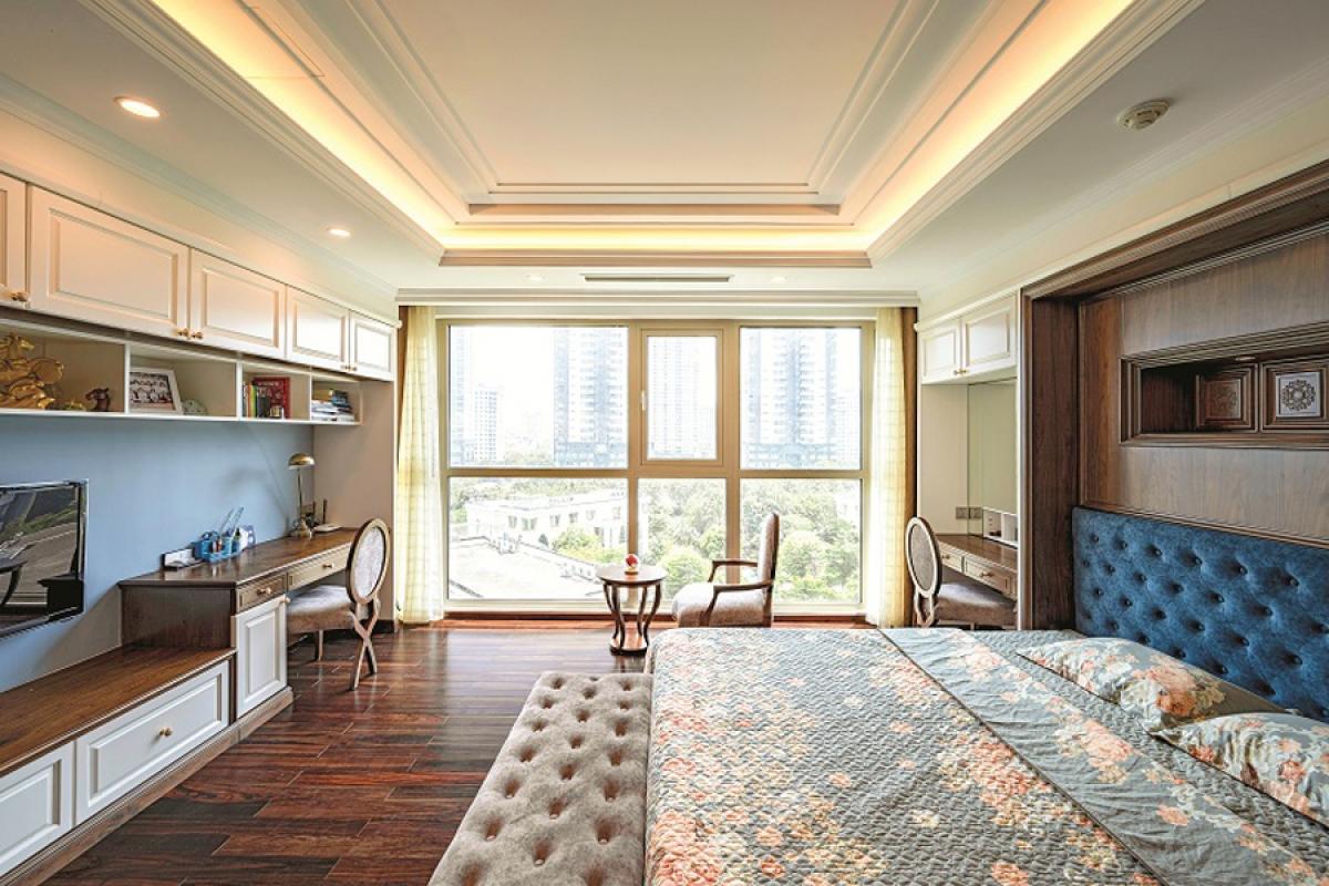 Căn hộ duplex đẹp sang trọng với phong cách tân cổ điển - Ảnh 6