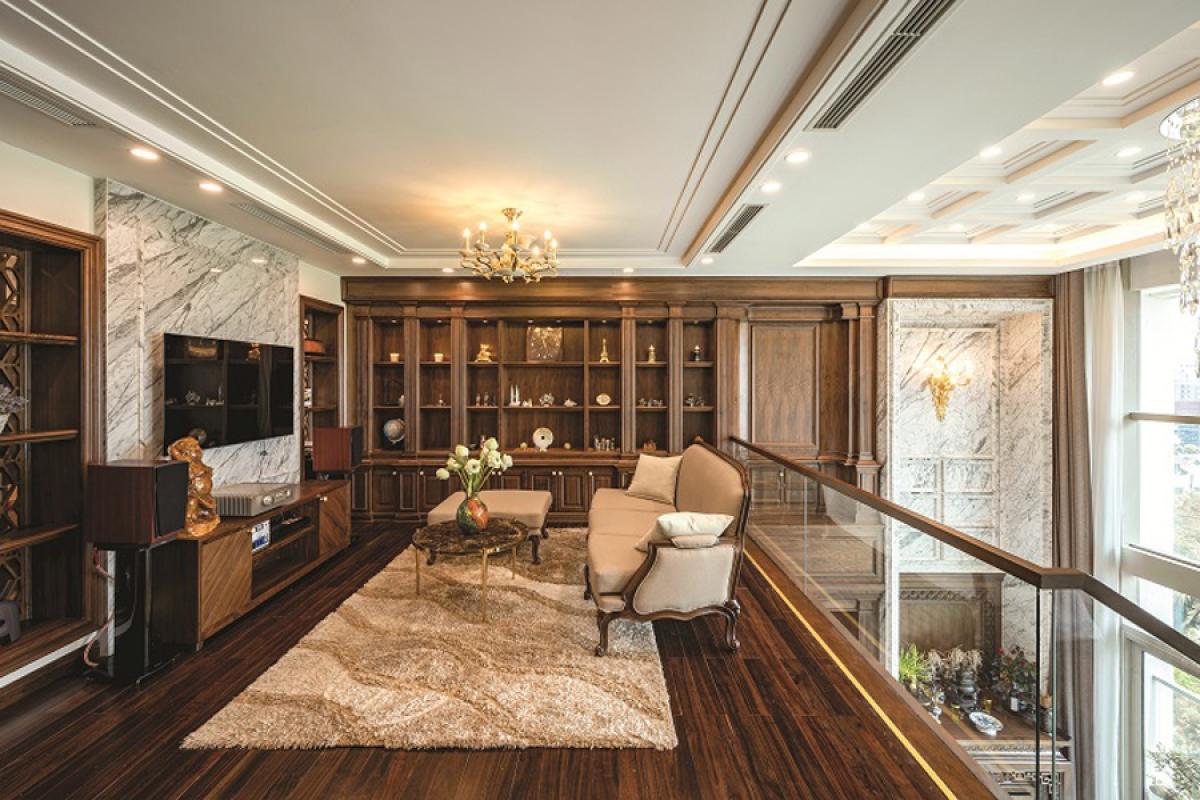 Căn hộ duplex đẹp sang trọng với phong cách tân cổ điển - Ảnh 7