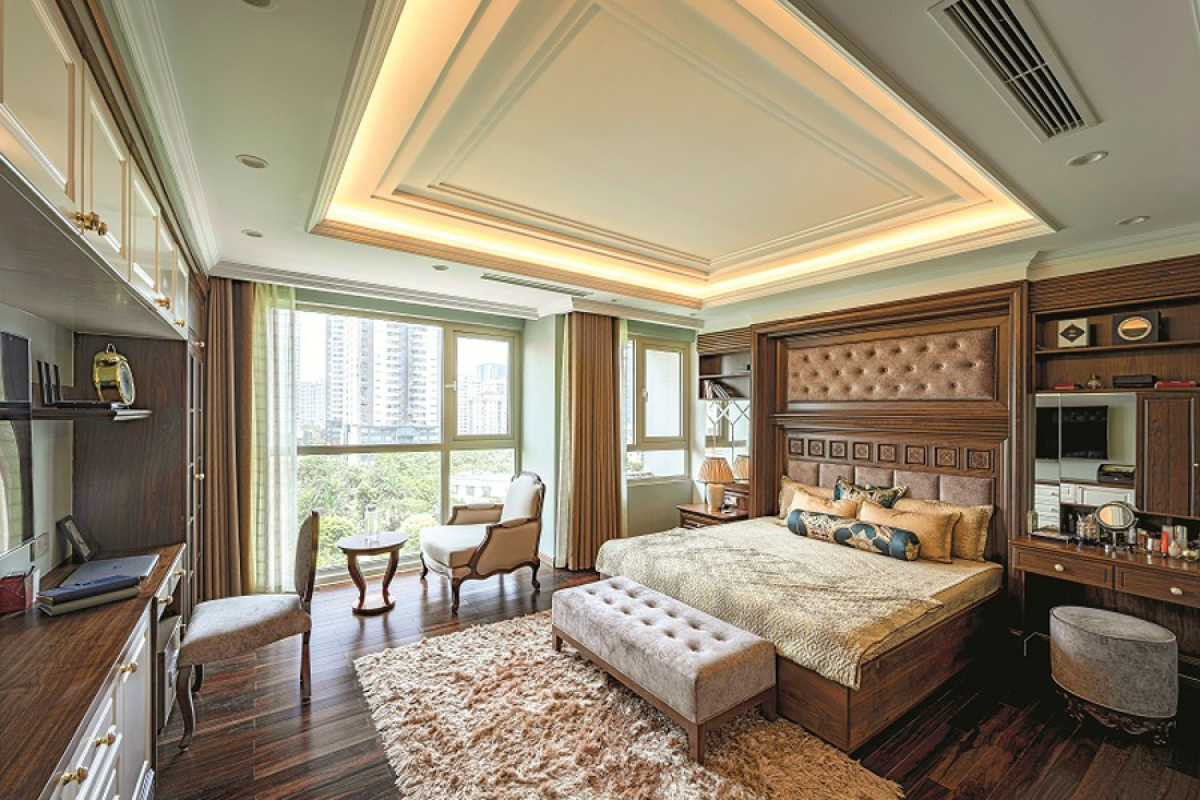 Căn hộ duplex đẹp sang trọng với phong cách tân cổ điển - Ảnh 9