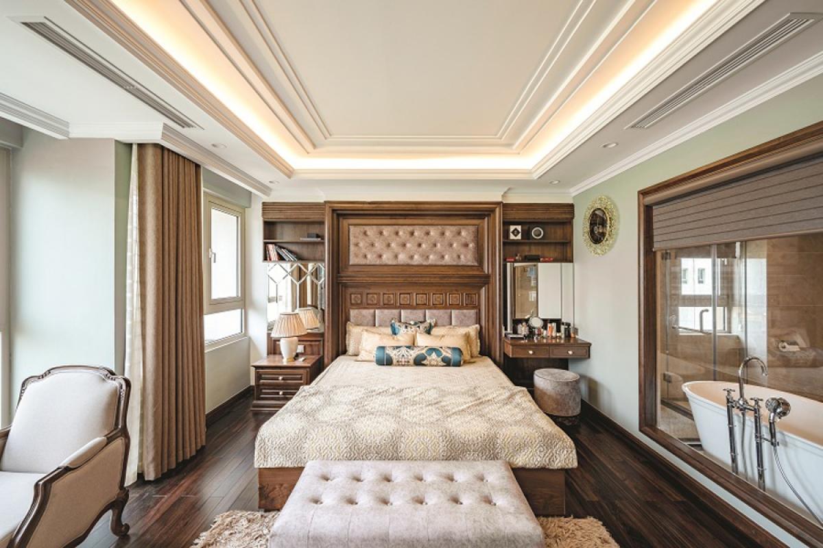 Căn hộ duplex đẹp sang trọng với phong cách tân cổ điển - Ảnh 10
