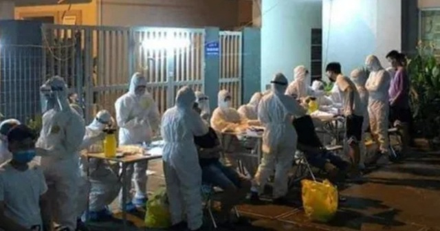 3 ca dương tính, Bắc Ninh cách ly 1.300 người khu ký túc xá công ty Canon - Ảnh 1