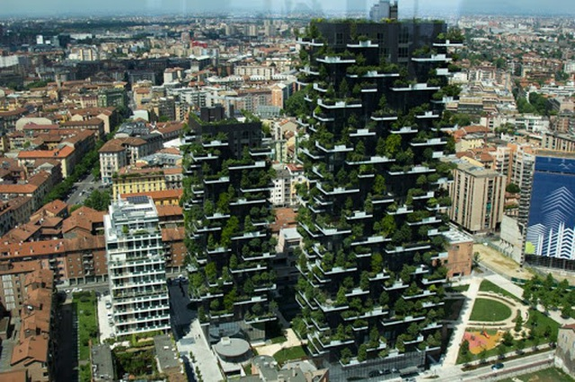 Độc đáo tòa chung cư như rừng giữa phố, mỗi buổi sáng chim hót líu lo - Ảnh 4